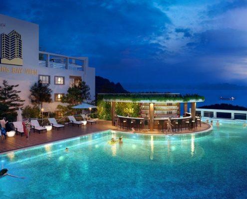Bể bơi Hạ Long Bay View