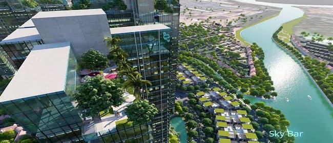 Chuẩn nghỉ dưỡng qua từng sắc xanh tại Sunshine City Sài Gòn