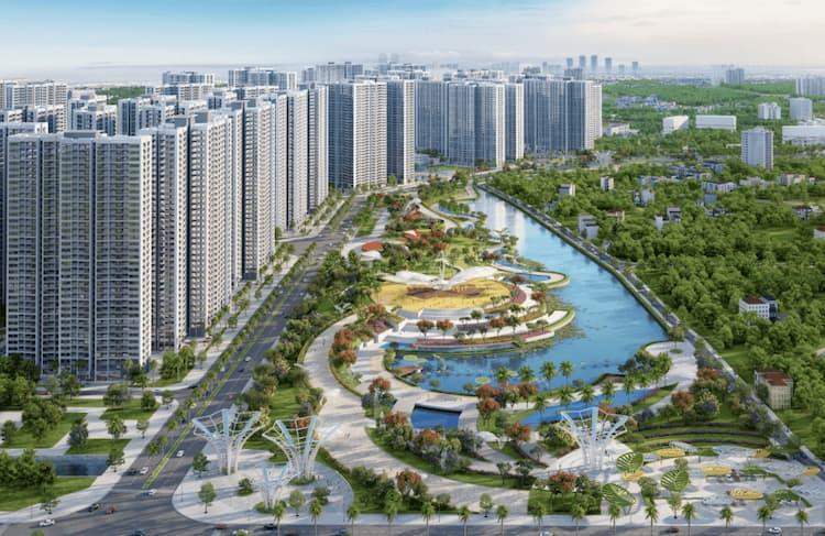 Đô thị Smart City chuẩn sống sang cho người Hà Thành