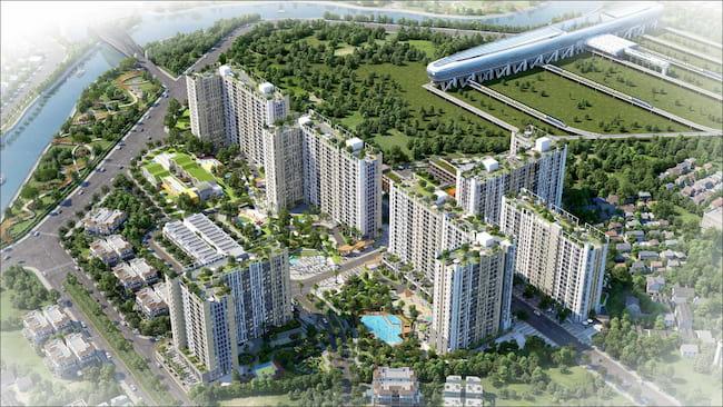 Chung cư Picity Quận 12 sở hữu vị trí đắc địa bậc nhất